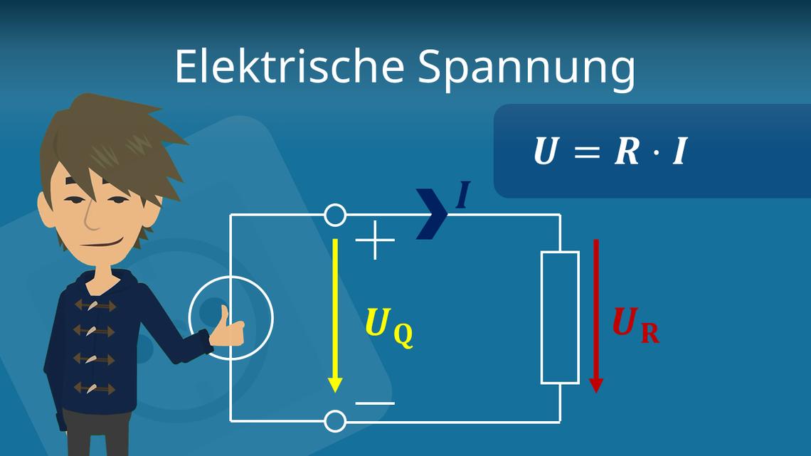 Elektrische Spannung Definition Formel Und Beispiele Mit Video
