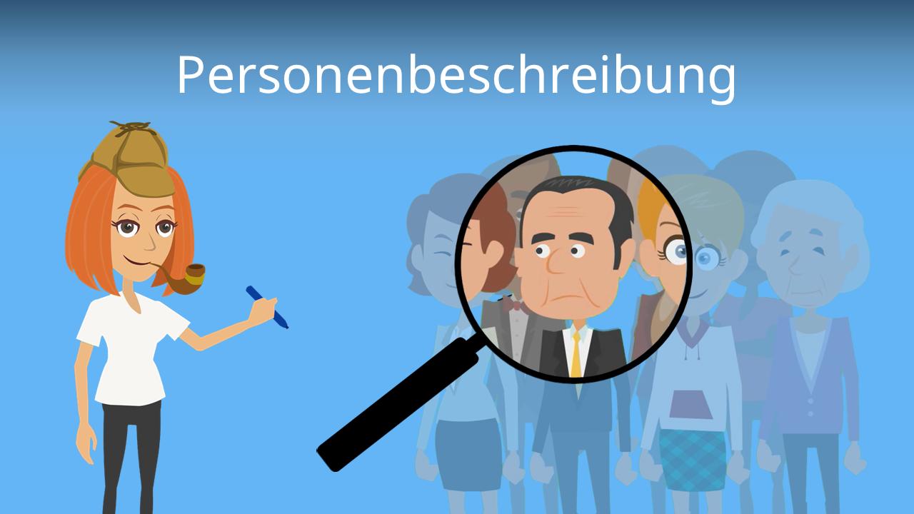 Personenbeschreibung muster Personenbeschreibung Grundschule